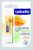 Beiersdorf Labello Balzám na rty Milk & Honey 4,8 g