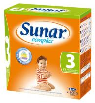 HERO Sunar complex 3 bez příchutě 600 g
