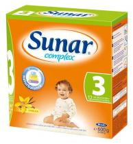 HERO Sunar complex 3 s příchutí vanilka 600 g