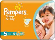 PAMPERS Sleep&Play Junior 11-18kg 42ks