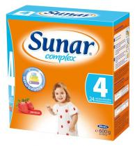 HERO Sunar complex 4 s příchutí jahoda 600 g