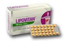 Herbacos-Bofarma HBF Lipovitan 180 tbl.