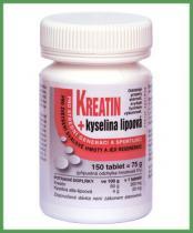 Naturvita Kreatin + Kyselina lipoová 150 tbl.