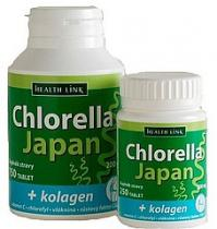 Health Link Chlorella Japan + kolagen 750 tbl.