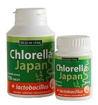 Health Link Chlorella Japan + lactobacillus 250 tbl.