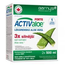 Biopol Barny´s ACTIValoe Lékárenská aloe 2x 500 ml