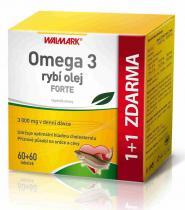 Walmark Omega 3 rybí olej FORTE 60 tob.