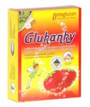 Topvet Glukanky s příchutí jahody 30 pastilek