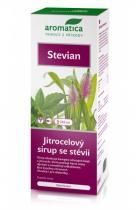 Aromatica CZ Stevian jitrocelový sirup se stévií 210 ml