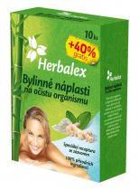 Herbamedicus Herbalex - bylinné detoxikační náplasti 10ks + 40% gratis