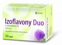 Noventis Izoflavony Duo s vitamínem D 50 kapslí