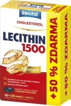 Vitar Revital Lecithin 1500 40 kapslí