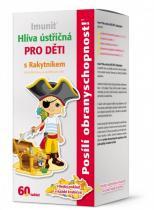 Simply You Imunit Hlíva ústřičná pro děti s Rakytníkem 60 tob.
