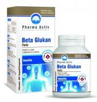 Pharma Activ Beta glukan forte s vitamínem c a zinkem 60 kapslí
