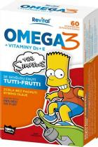 Vitar Revital The Simpsons Omega 3 + vitaminy D3 a E 60 kapslí