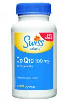 Swiss Herbal Remedies Co Q10 - koenzym Q10 100mg 100 kapslí