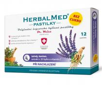 Simply You HerbalMed pastilky Dr. Weiss při nachlazení bez cukru 12 pastilek