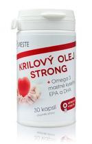 Medicura Vieste Krilový olej Strong Omega 30 kapslí