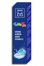NP Pharma Ostrow Mazowiecka Zdrovit Ca + Mg + Zn + vitamín C šumivé tbl. 20