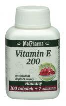 Medpharma Vitamín E 200 Forte 100 tob. + 7 tob.