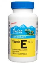 Swiss Herbal Remedies Vitamin E 200 I.U. 90 kapslí
