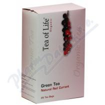Amazon Trading Tea of Life Green tea červený rybíz 25x2g