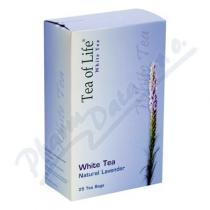 Amazon Trading Tea of Life White tea Natur Levandule 25x2g