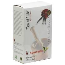 Amazon Trading Ajurvédský Bio detoxikační čaj Tea of Life 25x2g