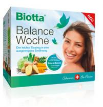 Biotta Bio Balance týden bio-kúra na 7 dní na odkyselení organismu
