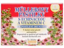 Dr. Müller Müllerovy pastilky s echinaceou a vitamínem C 12ks