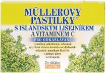 Dr. Müller Müllerovy pastilky s islandským lišejníkem 12ks