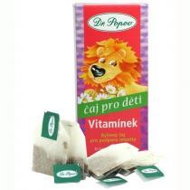 Dr. Popov Dětský bylinný čaj Vitamínek 30 g