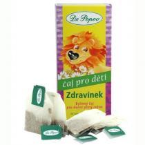 Dr. Popov Dětský bylinný čaj Zdravínek 30 g