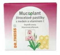 Dr. Theiss Mucoplant jitrocelové pastilky-med+vitamín C 50 g