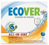 Ecover Tablety do myčky 70 ks - All in one 1,4 kg