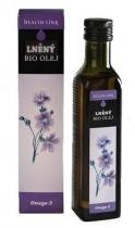 Health Link Bio Lněný olej 250 ml