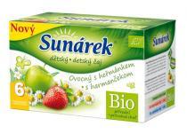 HERO Sunárek dětský čaj ovocný s heřmánkem 20 x 1,5g