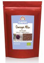 Iswari Bio Omega Mix (směs mletých semínek: 10% chia, 90% hnědý len) Raw 250 g
