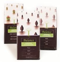 Klingele Chocolade Nv Balance hořká čokoláda se stévií bez přidaného cukru 85g