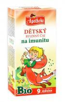 Mediate Apotheke Bio Dětský bylinný čaj na imunitu 20x1.5g
