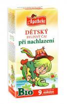 Mediate Apotheke Bio Dětský bylinný čaj při nachlazení 20x1.5g