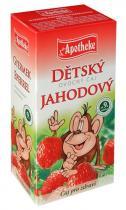 Mediate Apotheke Dětský ovocný čaj jahodový 20x2g