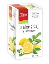 Mediate Apotheke Zelený čaj s citronem 20x2g