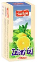 Mediate Apotheke Zelený čaj s citronem 20x1.5g