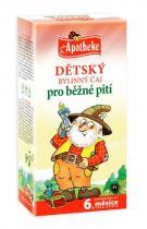 Mediate Apotheke Dětský bylinný čaj pro běžné pití 20x1.5g