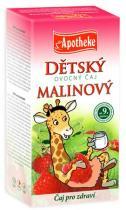 Mediate Apotheke Dětský ovocný čaj malinový 20x2g