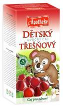 Mediate Apotheke Dětský ovocný čaj třešňový 20x2g