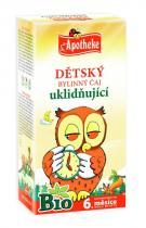 Mediate Apotheke Bio Dětský čaj uklidňující 20x1.5g