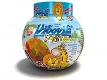 TEVA Czech Industries Vibovit Safari 50 bonbonů