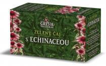 Valdemar Grešík Zelený čaj s echinaceou n.s. 20 x 1,5 g